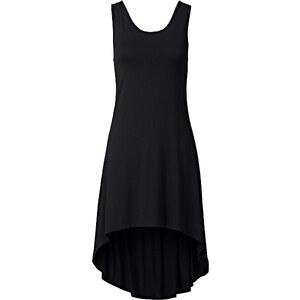 RAINBOW Vokuhila-Shirtkleid in schwarz von bonprix
