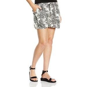 PIECES Damen Pctulip Shorts Exp/tropical Flower
