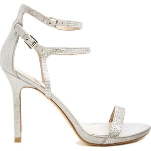 Miss KG Emelie Silver Heeled Sandals