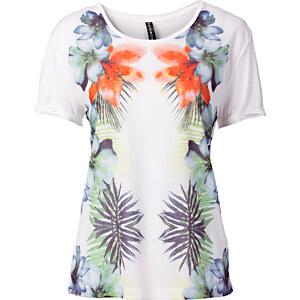 RAINBOW T-shirt blanc manches courtes femme - bonprix