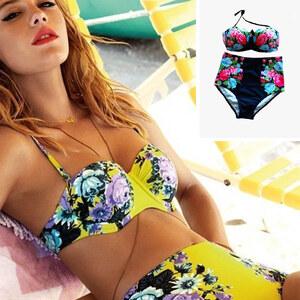 Lesara Bikini à motif floral