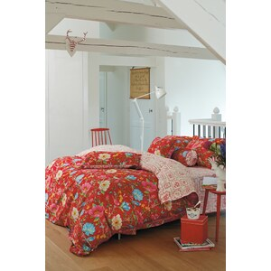 housse de couette 200x200 cm chinese garden rouge collection pip studio. Black Bedroom Furniture Sets. Home Design Ideas