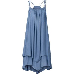 RAINBOW Kleid ohne Ärmel in blau (Rundhals) von bonprix