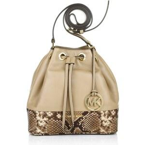 MICHAEL Michael Kors Jules MD Drawstring Messenger Bag Dark Khaki Handtasche