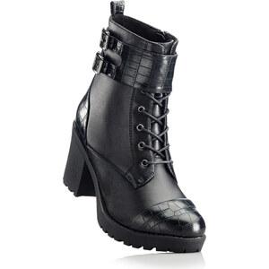 RAINBOW Bottines à lacets noir chaussures & accessoires - bonprix