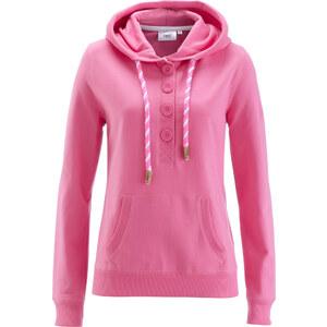 bpc bonprix collection Sweat-shirt à capuche fuchsia manches longues femme - bonprix