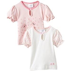 """Twins Baby - Mädchen T-Shirt """"Blümchen"""" im 2er Pack"""