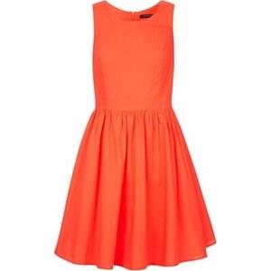 Monoprix Robe corolle - orange