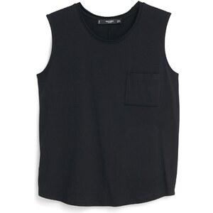 MANGO Baumwoll-T-Shirt Mit Tasche
