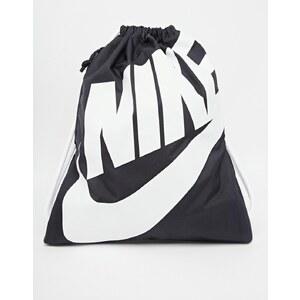Nike - Heritage - Rucksack mit Kordelzug - Schwarz