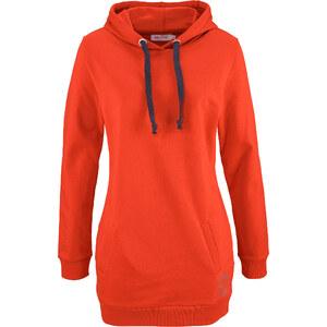 John Baner JEANSWEAR Long-Sweatshirt, Langarm in orange für Damen von bonprix