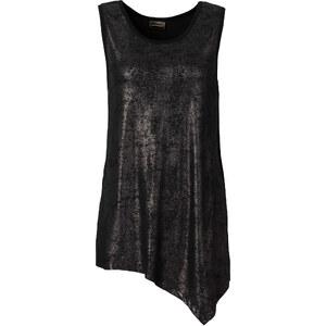 RAINBOW Top mit Foilprint ohne Ärmel in schwarz für Damen von bonprix