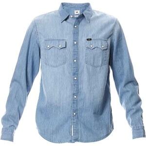 Lee Chemise en jean - denim bleu
