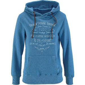 John Baner JEANSWEAR Sweat-shirt manches longues bleu femme - bonprix
