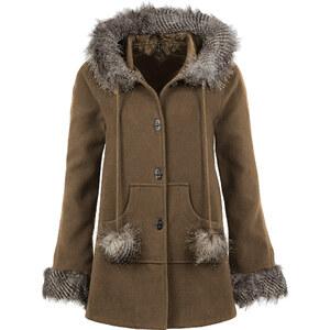 BODYFLIRT boutique Jacke langarm in braun für Damen von bonprix