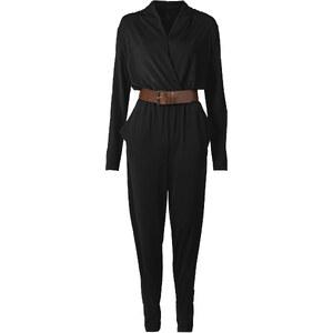 BODYFLIRT boutique Overall mit Gürtel in schwarz von bonprix