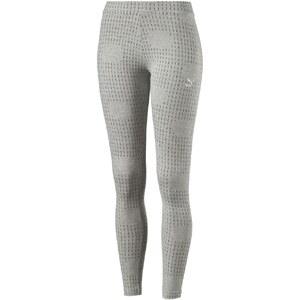 Puma Arch Printed - Legging - gris clair