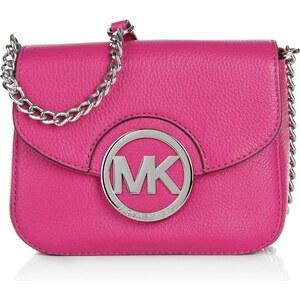 Michael Kors Tasche - Fulton SM Crossbody Raspberry - in pink aus Glattleder - Umhängetasche für Damen