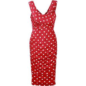 BODYFLIRT boutique Robe rouge sans manches femme - bonprix