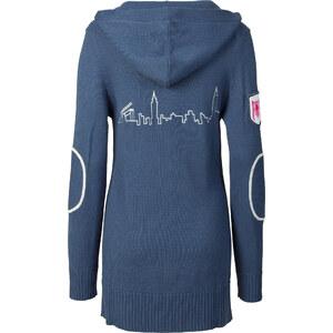 RAINBOW Veste en maille bleu femme - bonprix