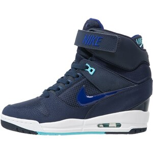Nike Sportswear AIR REVOLUTION SKY Baskets montantes mid navy/deep royal blue/white