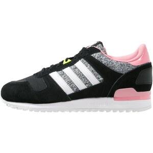 adidas Originals ZX 700 Sneaker low core black/white/super pop