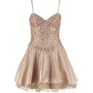 Luxuar Fashion Cocktailkleid / festliches Kleid nude