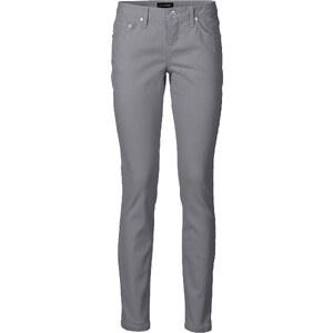 BODYFLIRT Pantalon extensible gris femme - bonprix