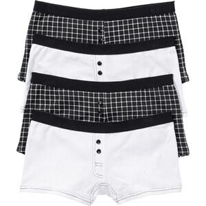 bpc bonprix collection Damen Boxer (4er-Pack) in schwarz für Damen von bonprix