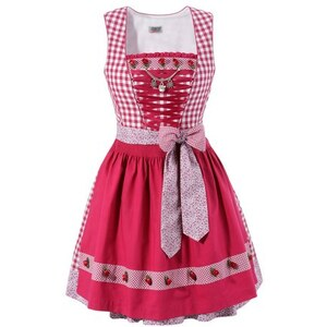 Damen Dirndl Country Line COUNTRY LINE rosa 32,34,36,38,40,42,44