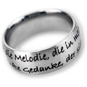 Ring »Du bist die Melodie, ....«