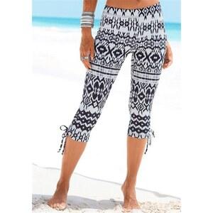 Beachtime Damen Capri-Leggings mit Raffung bunt 36/38,40/42,44/46,48/50,52/54