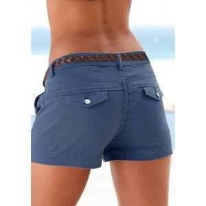 Damen Hotpants Lascana blau 34,36,38,40,42,44