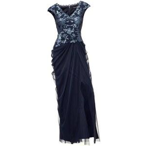 Damen Abendkleid ASHLEY BROOKE blau 34,38,40,42,44,46