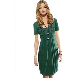 Ambria Damen Kleid grün 36,38,40,42,44,46,48,50,52