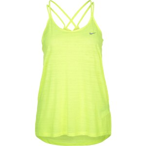 Nike Performance COOL BREEZE Top volt/reflective silver