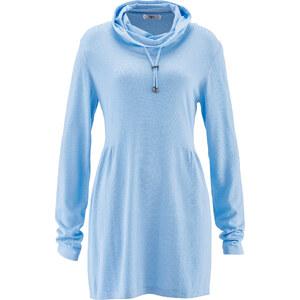 bpc bonprix collection Pull tunique bleu manches longues femme - bonprix