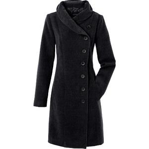 Manteau noir manches longues femme - bonprix
