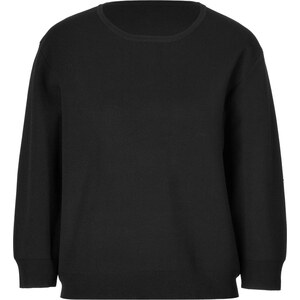DKNY Cropped Sleeve Pullover