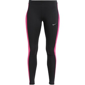 Nike Performance ESSENTIAL Tights black/vivid pink/reflective silver