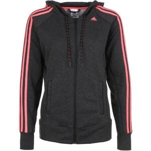 adidas Performance ESS Sweatjacke black/flash red