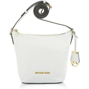 Michael Kors Tasche - Bedford SM Messenger Optic White - in weiß aus Glattleder - Umhängetasche für Damen