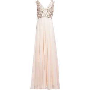 Luxuar Fashion Ballkleid apricot hell