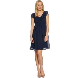 Tom Tailor Short Romantic Chiffon Dress Damen 44 navy