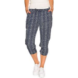 Tom Tailor Cropped Printed Loose Fit Pant Damen 36 navy