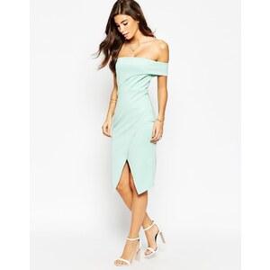 ASOS - Asymmetrisches One-Shoulder-Kleid - Mint