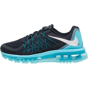 Nike Performance AIR MAX 2015 Laufschuh Dämpfung dark obsidian/white/pale blue/blue lagoon