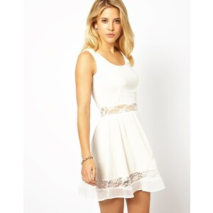 AX Paris Lace Panel Dress