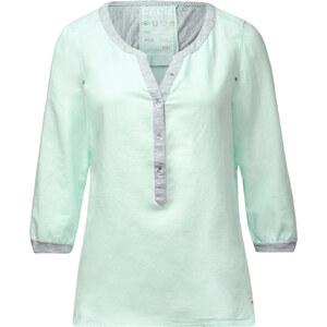 Cecil - Blouse à détails sweat-shirt - water mint vert