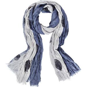Street One - Maxi foulard froissé Lotte - print stellar blue